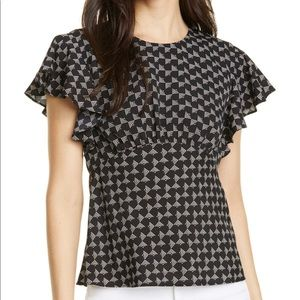 Joie patterned blouse
